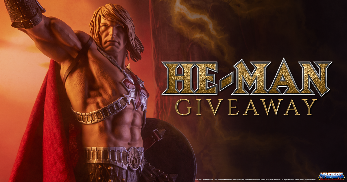 He-Man Statue Giveaway