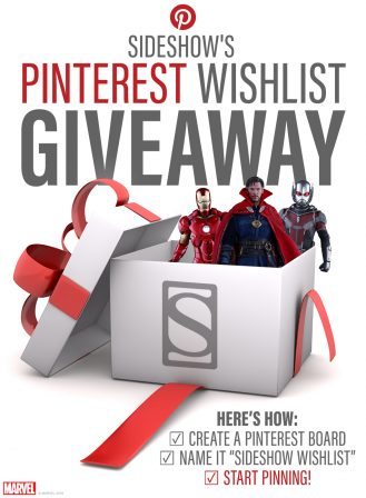 Pinterest Wishlist Giveaway