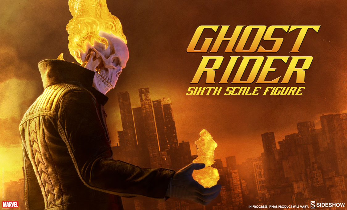 Ghost Rider Sixth Scale Figure Sideshow Collectibles