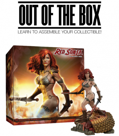 Red Sonja She-Devil with a Sword Out of the Box