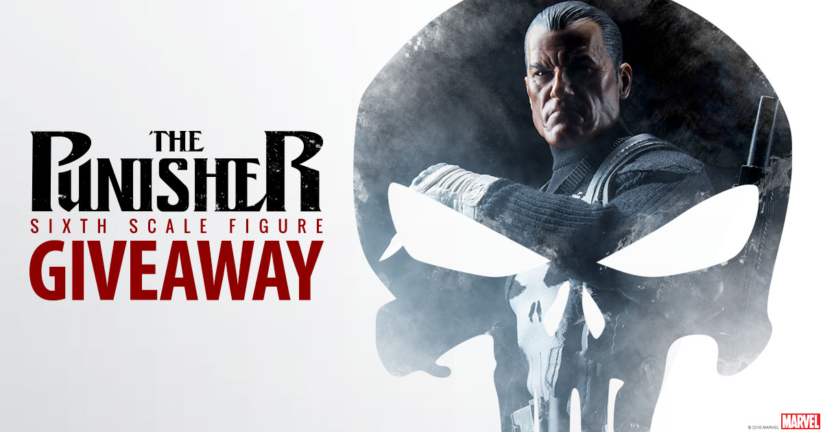 Punisher Sixth Scale Figure Giveaway