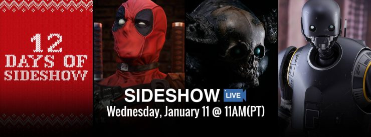 Sideshow Live and where to find it!