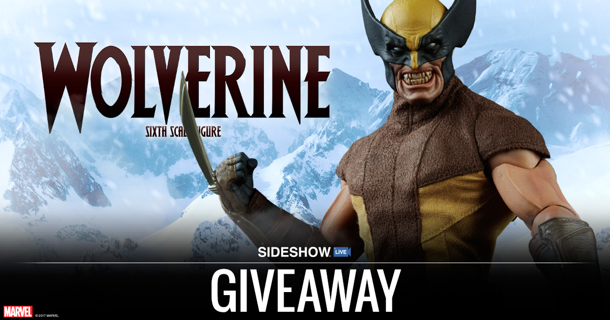 Sideshow Live Wolverine Figure Giveaway