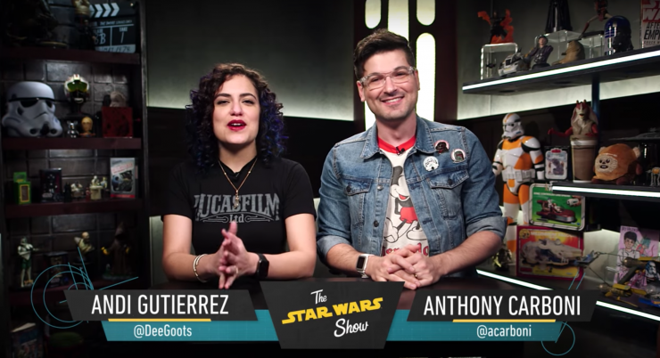The Star Wars Show visits Sideshow!