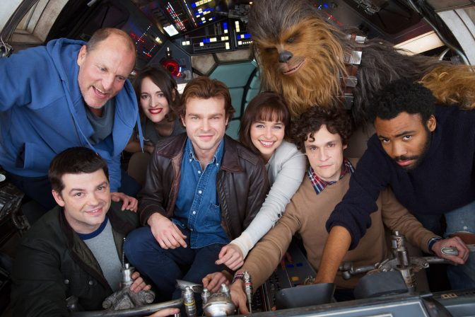 Filming for the untitled Han Solo Star Wars movie has begun!
