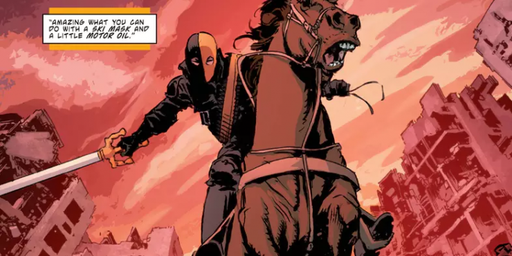 The Secret of Deathstroke's Name & Mask Revealed