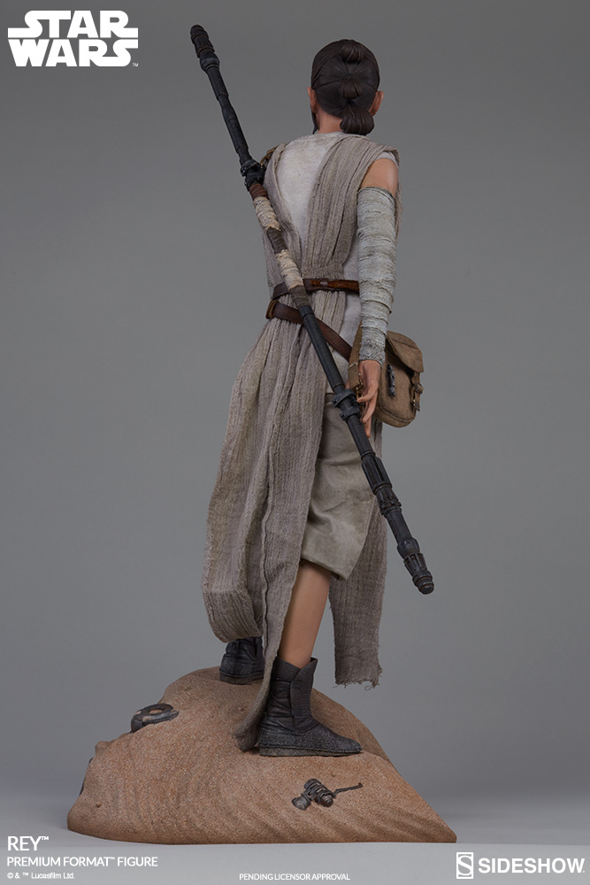 Rey Star Wars Toys : Rey bb premium format™ figures sideshow collectibles