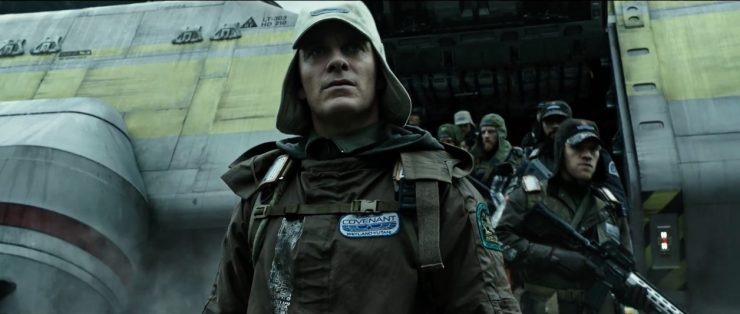 Full Trailer for Alien:Covenant – The path to paradise begins in hell.
