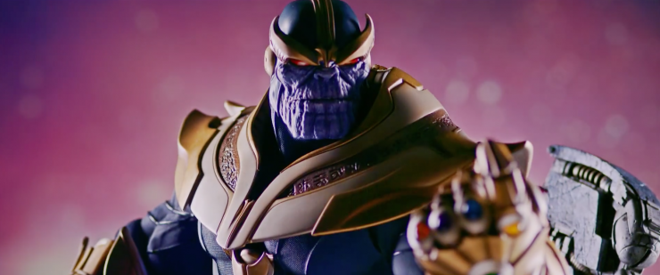 An inside look at the Thanos on Throne Maquette!