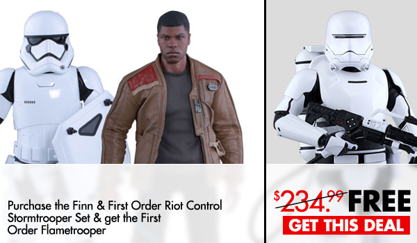 #SquadGoals – Level up your First Order Stormtrooper collection with these special offers by Sideshow!