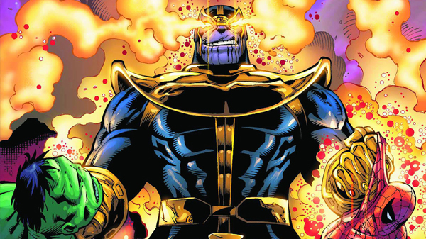 Throwing Down the Gauntlet with Thanos- The Best Battles of the Mad Titan
