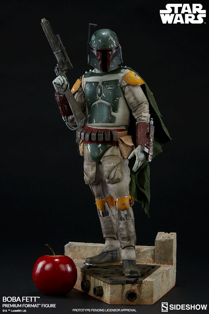 boba fett premium format figure sideshow collectibles. Black Bedroom Furniture Sets. Home Design Ideas
