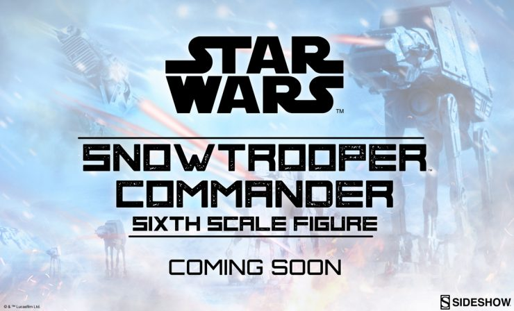 Snowtrooper Commander™ Sixth Scale Figure