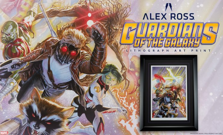 Guardians of the Galaxy Lithograph Fine Art Print