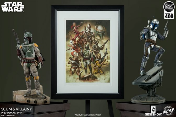 Scum & Villainy Art Print