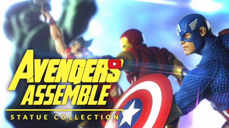 Avengers Assemble Statue Collection Video