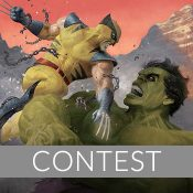 Hulk and Wolverine: First Appearance Variant Framed Art Print Giveaway