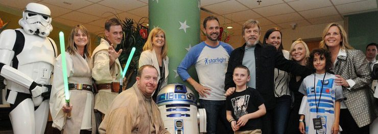 Mark Hamill Visits Sick Children as a Force for Change in Orlando
