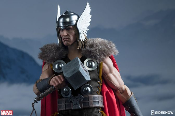 Bring the Thunder with Sideshow's Thor Sixth Scale Figure