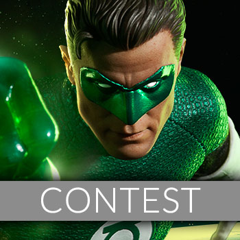 June 2017 Green Lantern Sixth Scale Figure Newsletter Giveaway