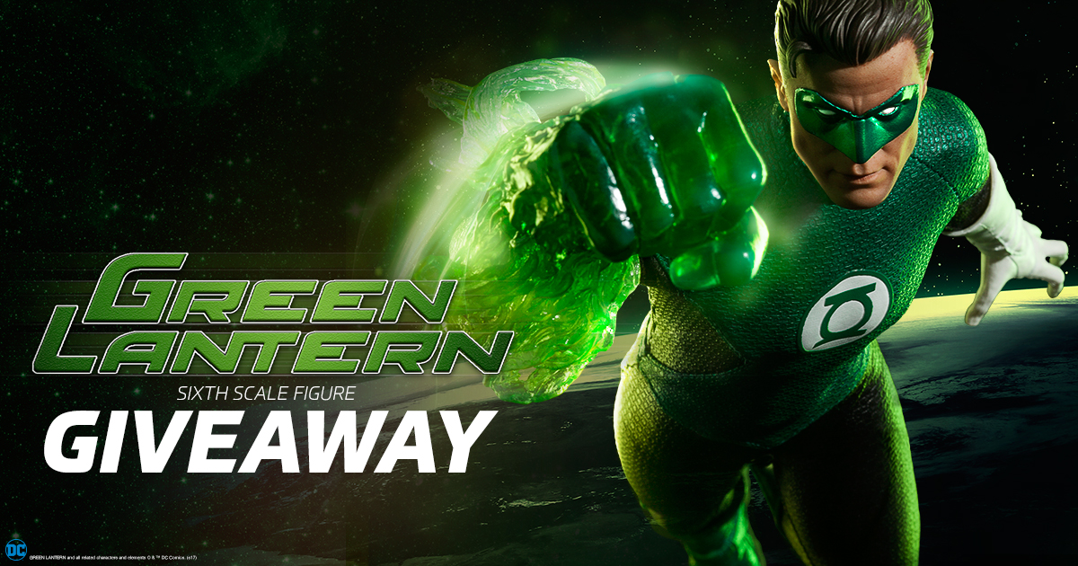 June 2017 Green Lantern Figure Newsletter Giveaway,Sideshow Contests