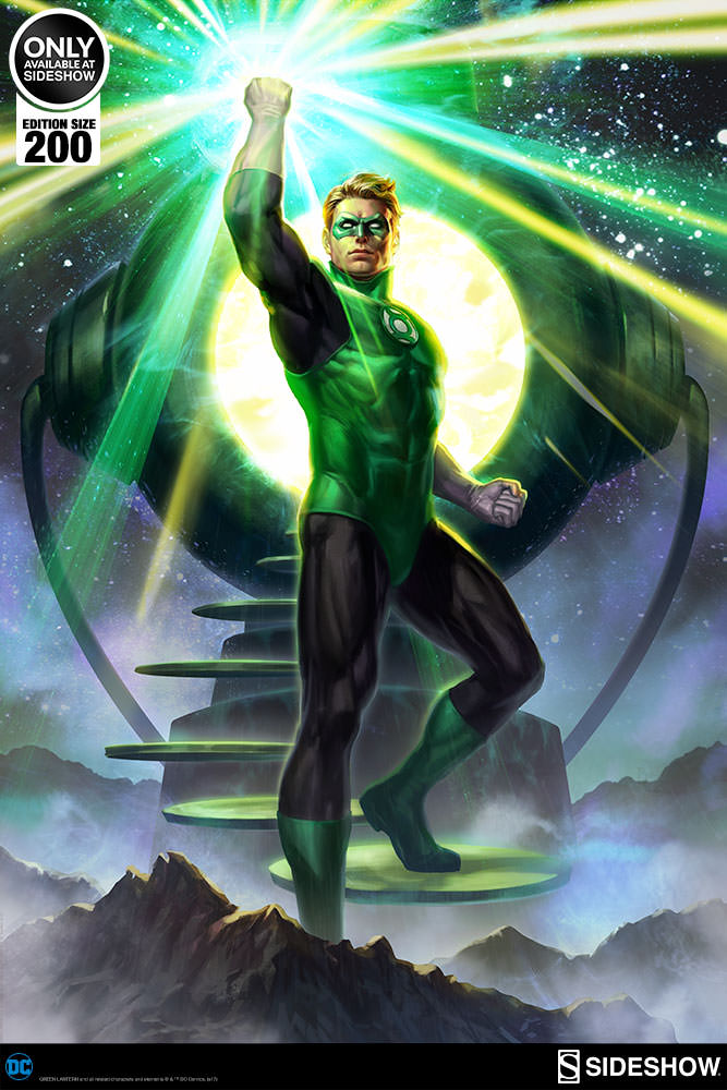 Green Lantern Premium Art Print | Sideshow Collectibles