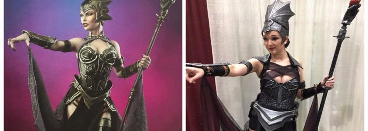 Larissa Paige Cosplay brings Evil-Lyn to Evil-Life!