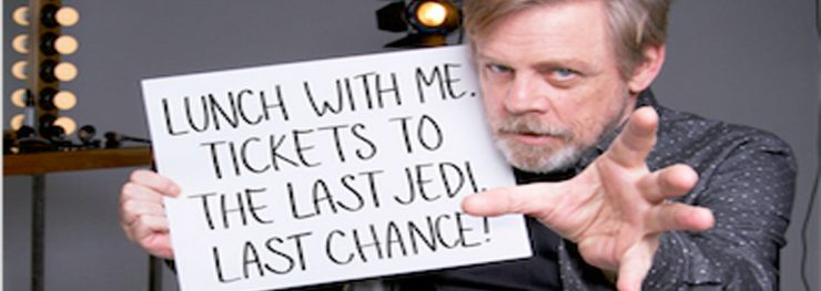 Mark Hamill Surprises Fans to Benefit Star Wars: Force For Change