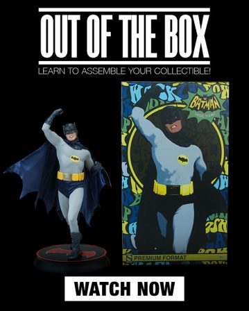 Out of the Box – Batman Premium Format Figure
