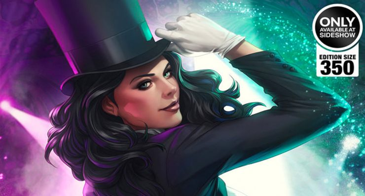 "Zatanna Takes the Stage in new Stanley ""Artgerm"" Lau Premium Art Print"