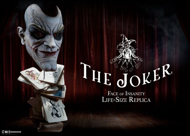 The Joker: Face of Insanity Life-Size Replica Mask
