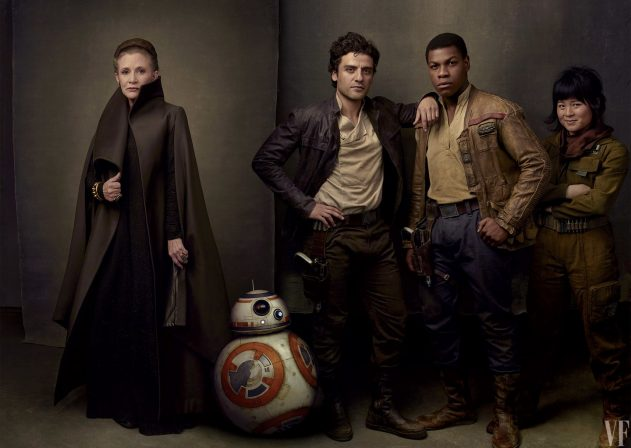 Vanity Fair unveils stunning new images from Star Wars: The Last Jedi