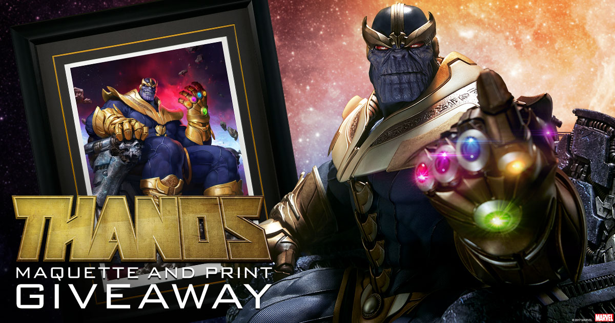 Thanos Prize Pack Giveaway