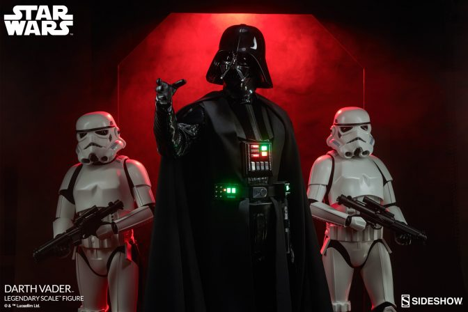 The Force is Strong with This One- The Darth Vader™ Legendary Scale™ Figure Approaches!