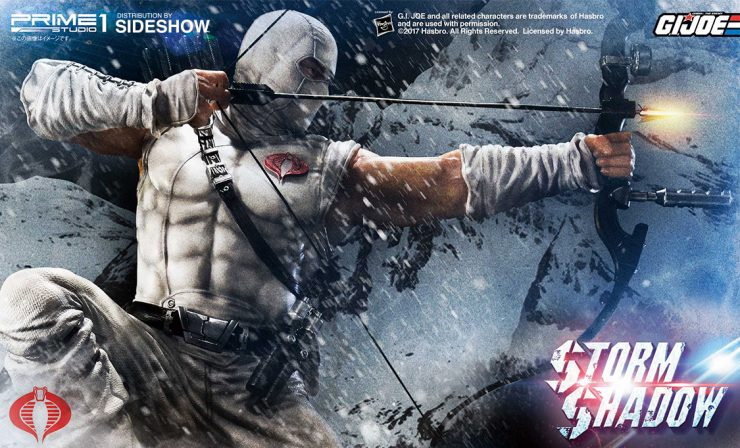 Storm Shadow Statue from Prime 1 Studio