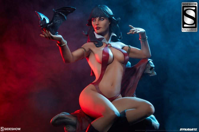 The Vampirella Statue will Drive You Batty
