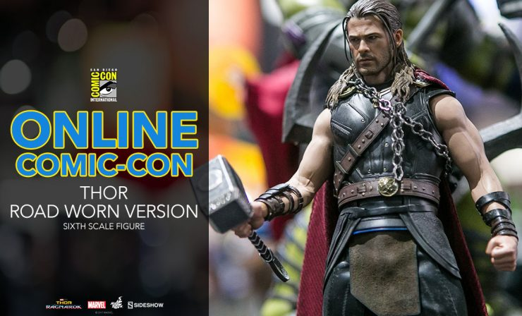 Thor (Road Worn Version) Sixth Scale Figure – Thor: Ragnarok – Hot Toys