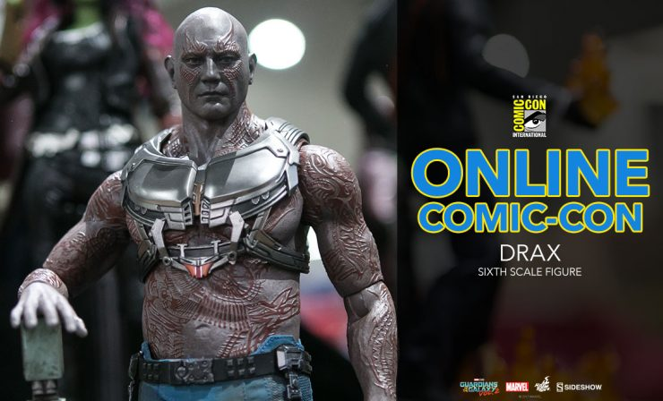 Drax Sixth Scale Figure – Guardians of the Galaxy Vol 2 – Hot Toys