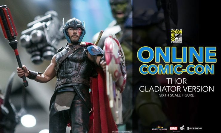 Thor (Gladiator Version) Sixth Scale Figure – Thor: Ragnarok – Hot Toys