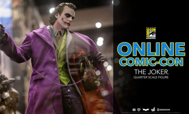 The Joker Quarter Scale Figure – The Dark Knight – Hot Toys