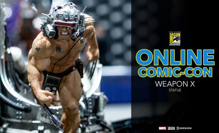 Weapon X 1/4 Scale Statue – Iron Studios