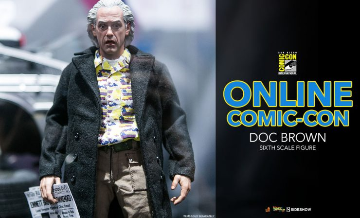 Doc Brown Sixth Scale Figure – Back to the Future Part 2 – Hot Toys