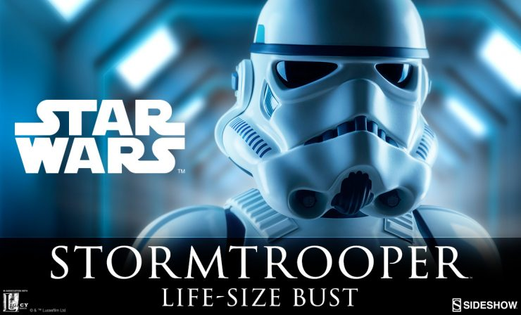 Stormtrooper™ Life-Size Bust