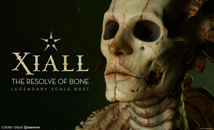 Xiall: The Resolve of Bone Legendary Scale™ Bust