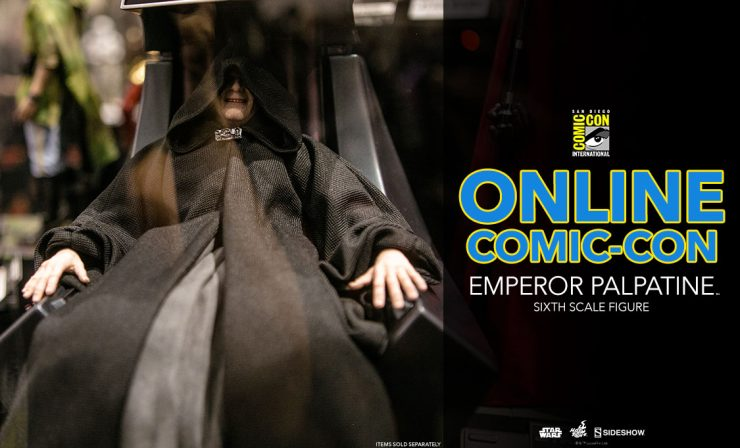 Emperor Palpatine – Star Wars – Sixth Scale Figure –  Hot Toys