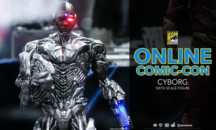 Cyborg Sixth Scale Figure – Hot Toys