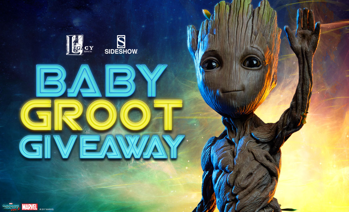 Baby Groot Maquette Giveaway