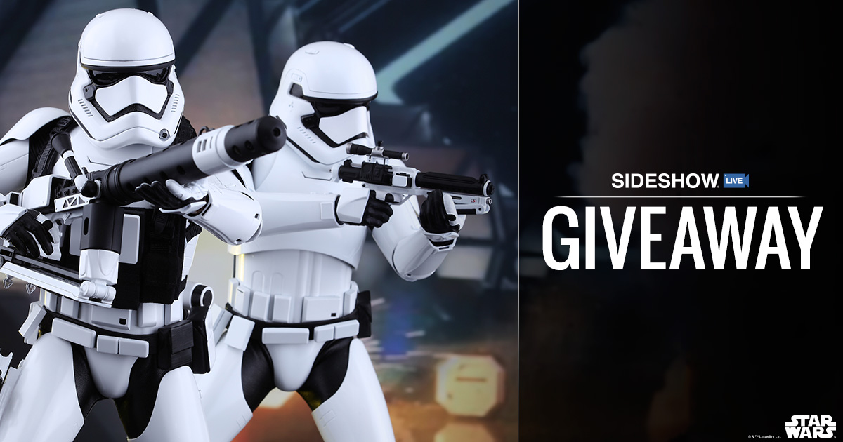 sideshow ,Sideshow Live Stormtrooper Set Giveaway