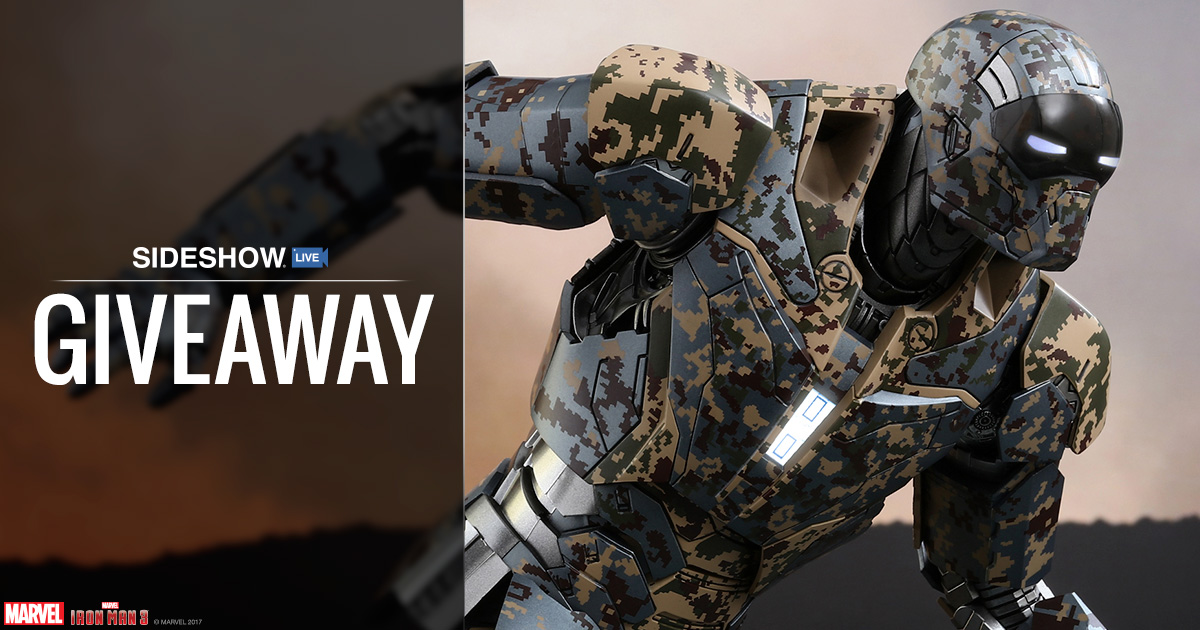 Sideshow Live Iron Man Shades Figure Giveaway