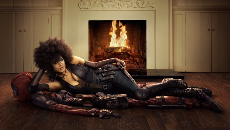 Ryan Reynolds Drops the First Look at Zazie Beetz as Domino in Deadpool 2